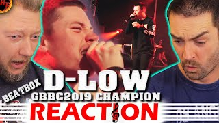 D-LOW Compilation Reaction 2019: Grand Beatbox Battle Champion 2019 ( gbb )