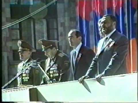 Военный парад в Ереване ч 1