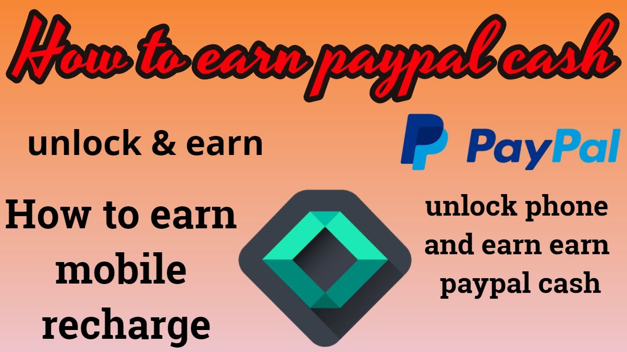 How to earn paypal cash and mobile recharge|2018