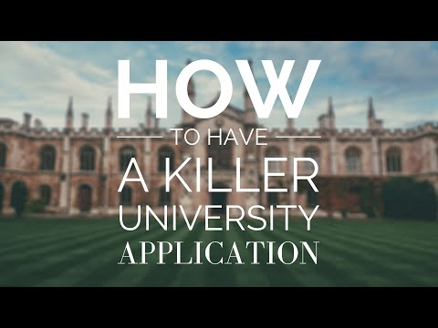 Write A Killer Personal Statement - My Cambridge Application