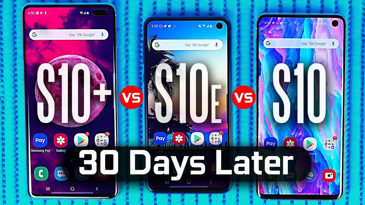 Download What's the Best Samsung S10? One month Later.