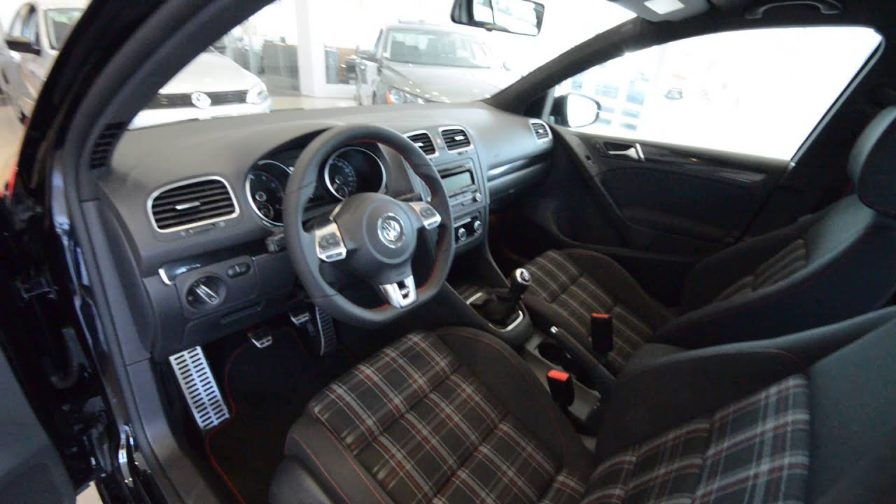 Volkswagen GTI Wolfsburg Edition BRAND NEW For Sale At Trend - 2013 volkswagen golf gti interior