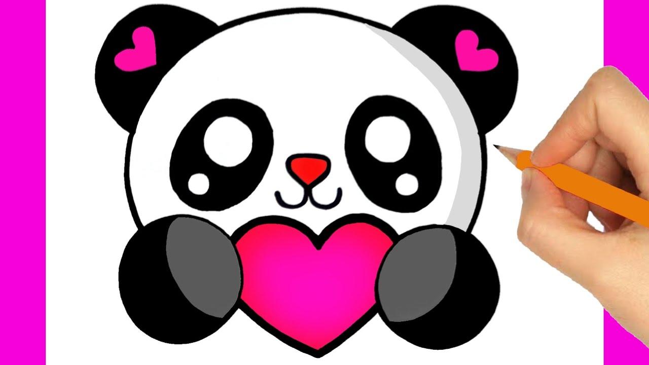 Comment Dessiner Un Panda Kawaii Youtube