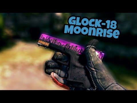 CS:GO - [Clutch Case] Glock-18 Moonrise   Showcase (All Wear)