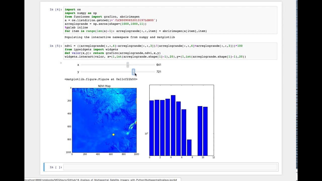 Multispectral Analysis of Satellite Imagery with Python