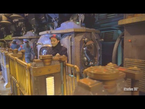 [4K] 20,000 Leagues Under the Sea Ride-through - Tokyo DisneySea  2016