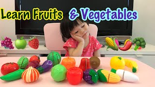 Good Baby Learn Name of Fruits and Vegetables   Educational videos for kids, children and toddlers