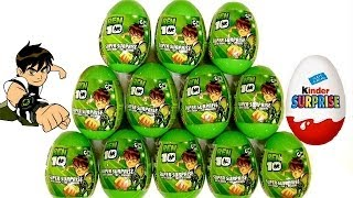 Ben10 Surprise Easter Eggs Kinder Playdoh Surprise Egg From Cartoon Network by Blutoys