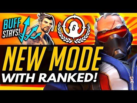 Overwatch | NEW RANKED GAMEMODE! + Hanzo BUFF STAYS?!