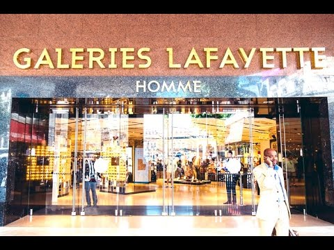 LAFAYETTE Galeries Haussmann - Shopping Mall in Paris France [HD]