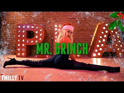Connie Britton - Mr Grinch - Choreography by Marissa Heart  TMillyTV