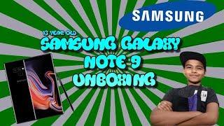 *FREE FORTNITE GALAXY SKIN* Samsung Galxay Note 9 Unboxing (512GB/8GB)