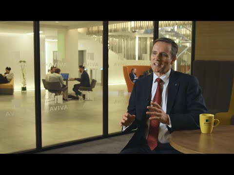 Aviva plc 2016 half year results interview with Group CEO Mark Wilson