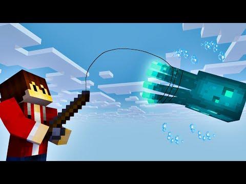 Was kann der leuchtende Tintenfisch in Minecraft   Minecraft Bedrock Guide #82   LarsLP