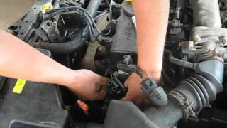 Replacing the coil in the 2000 hyundai accent
