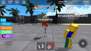 get buff with me! | roblox workout routine 2018 | It's Candy's Playpen