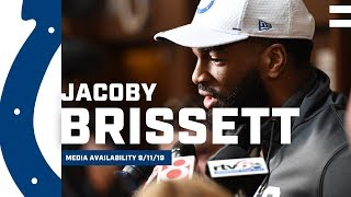 Jacoby Brissett Impressed With Offensive Play Across The Board