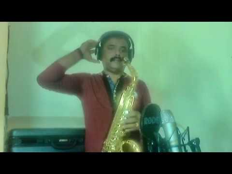 o mere dil ke chain cover by Saxophone Abhijit