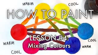 The BEST Color Mixing Tutorial EVER - How to Paint #4 - MV41