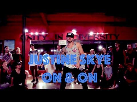 Justine Skye - On & On   Hamilton Evans Choreography