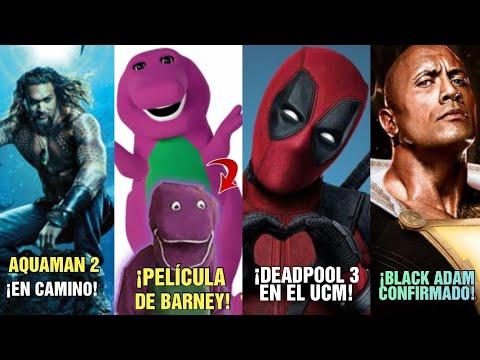 ¡aquaman-2-en-camino!---¡wtf!-¡pelÍcula-de-barney!---¡deadpool-3-en-el-ucm!-¡black-adam-confirmado!