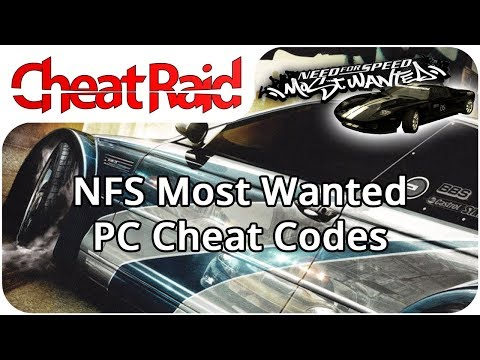 Need For Speed: Most Wanted Cheat Codes | PC