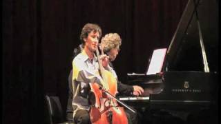 Antonio Lysy & Pascal Rogé live in NYC at Symphony Space on Sept. 2009 - part 5A out of 6