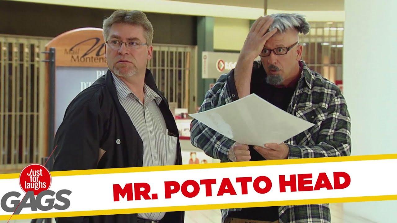 Real Life Mr Potato Head Prank
