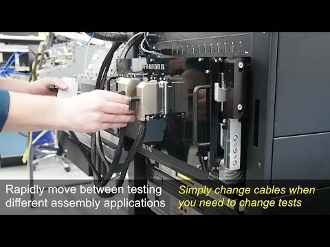 Automated Test Equipment - Change Tests By Changing Cables