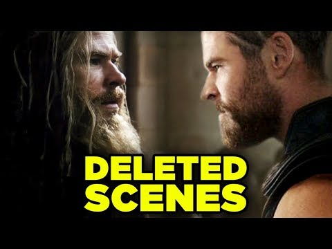 Avengers Endgame DELETED SCENES - Alternate Time Heist Revealed!