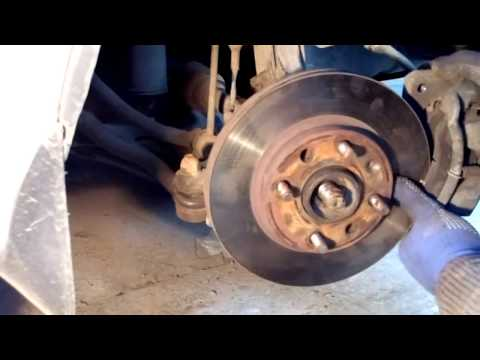 Замена переднего ступичного подшипника Chevrolet Aveo .
