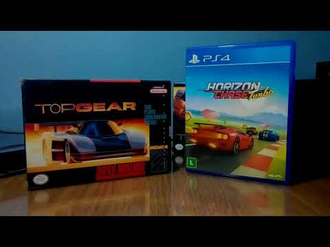 Unboxing Horizon Chase Turbo PS4 - Top Gear En PS4