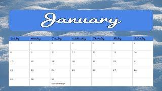 How to Make a Calendar in Google Slides