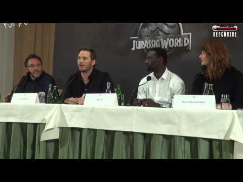 Conférence de presse Jurassic World