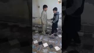 Cute Kids dancing on Pashto mast saaz * Must Watch*