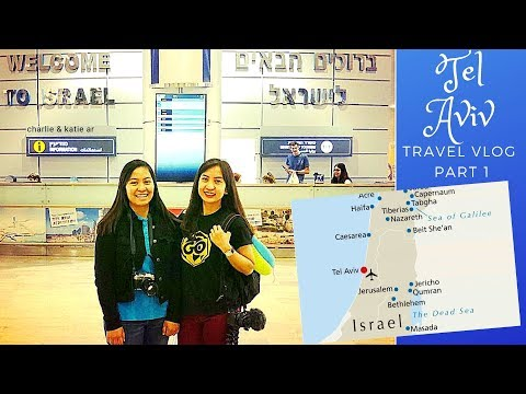 TEL AVIV - Israel travel vlog # 1
