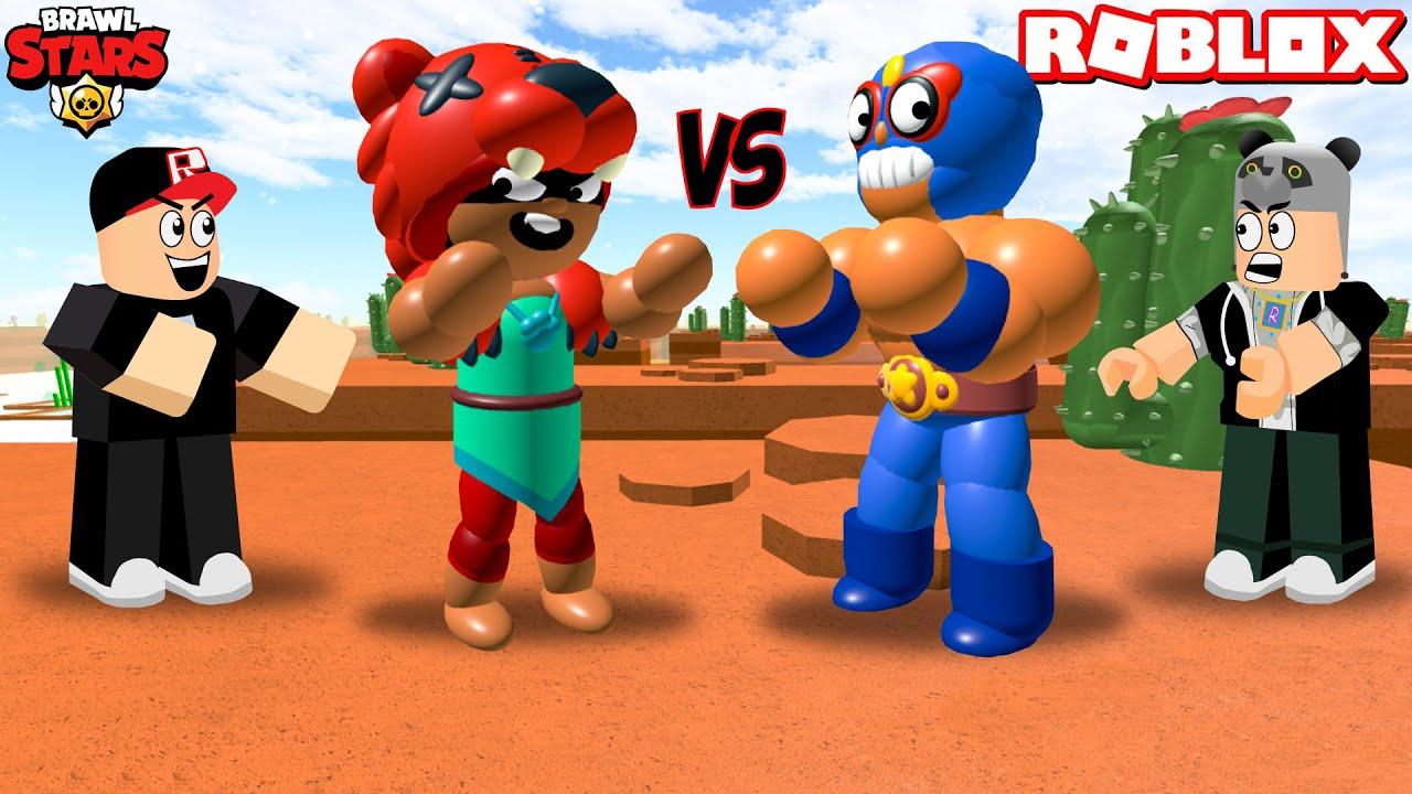 Brawl Stars Oynuyoruz Ama Roblox'da! - Panda ile Roblox Brawl Stars