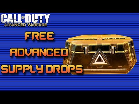 How to Get FREE Advanced Supply Drops in Advanced Warfare!
