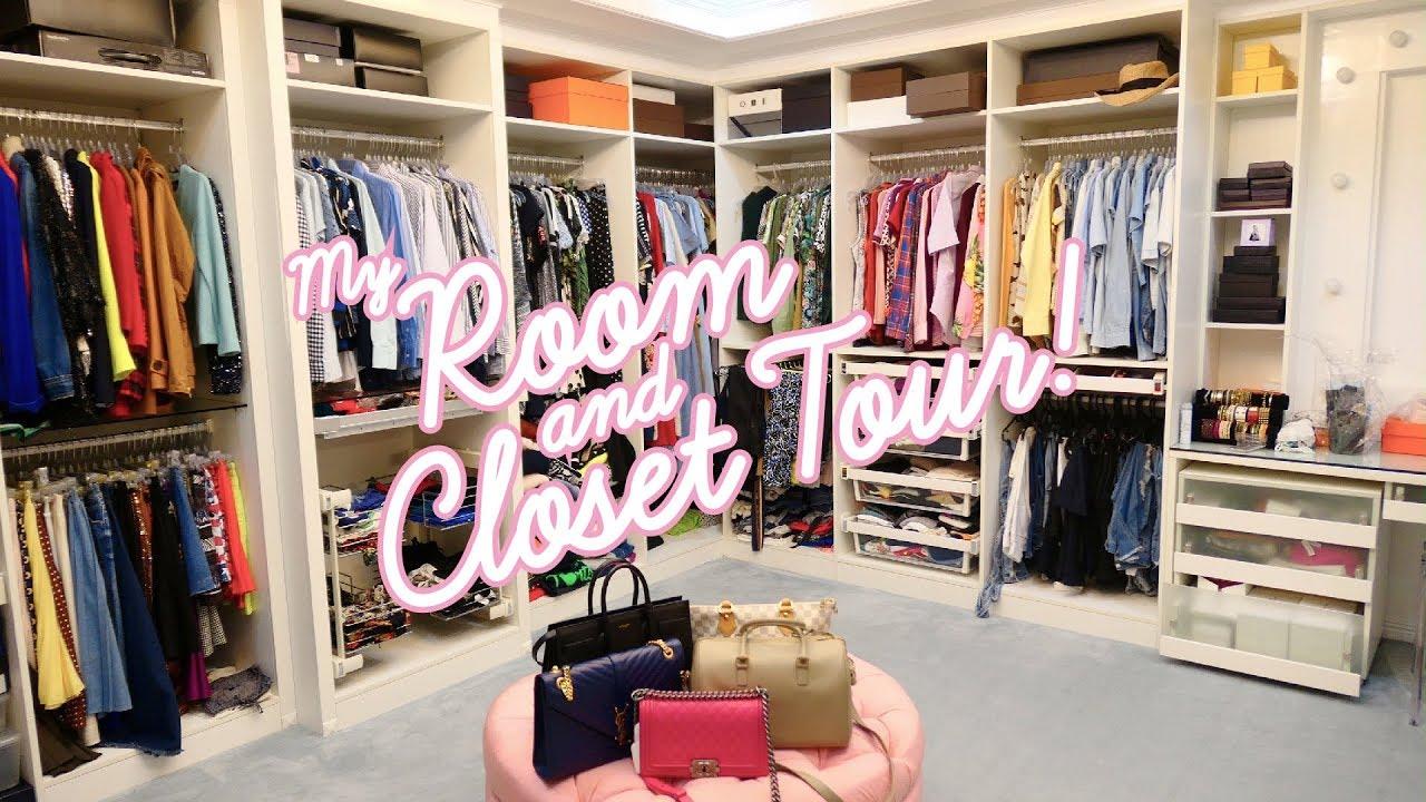 My Room And Closet Tour