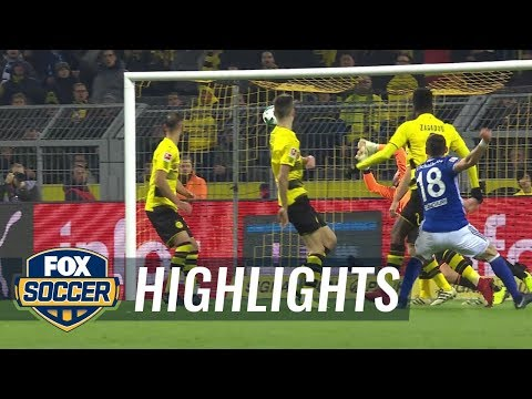 Borussia Dortmund vs. FC Schalke 04 | 2017-18 Bundesliga Highlights