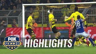 Borussia Dortmund vs FC Schalke 04  2017-18 Bundesliga Highlights