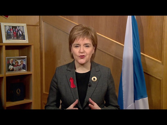 First Minister   World Aids Day Message