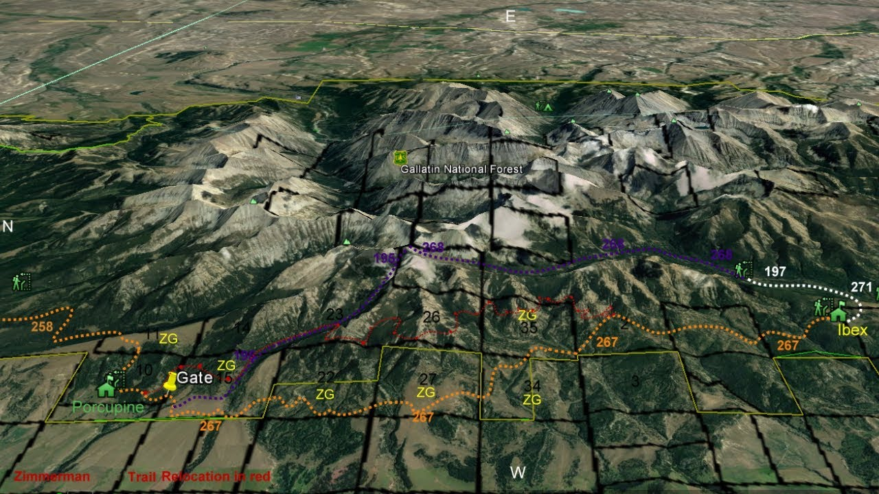Crazy Mountain Trail 267 Obliteration and Relocation Proposal ...