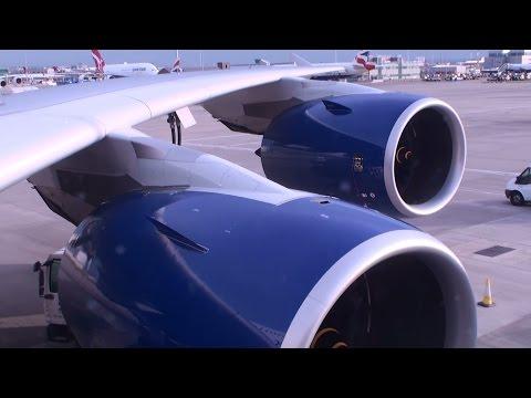 First British Airways A380: Takeoff at London Heathrow Airport (full HD)