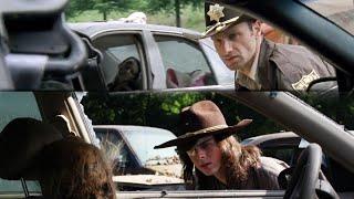 Ходячие мертвецы - сравнения Рик 1x01 - Карл 8x01