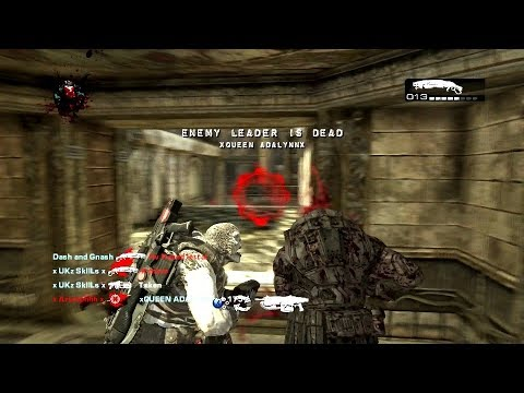 Gears of War 2 - LAGGY RAGE ON JACINTO & BLOOD DRIVE!