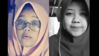 Video Smule Santri Wanita Merdu  Da'uni  suaranya bikin merinding download MP3, 3GP, MP4, WEBM, AVI, FLV September 2018