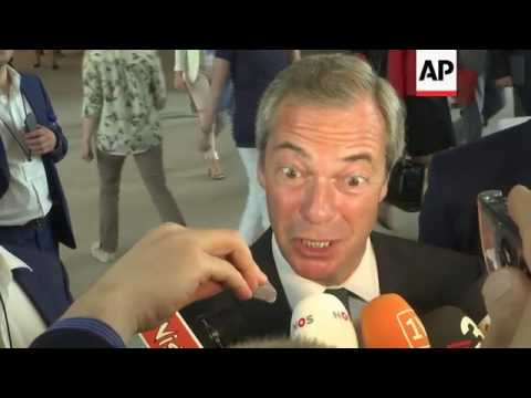 Farage and Le Pen comment on Brexit