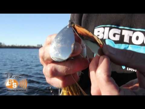 "Musky Bucktail | Pete Maina ""Sonic Boom"" - Sound Science 