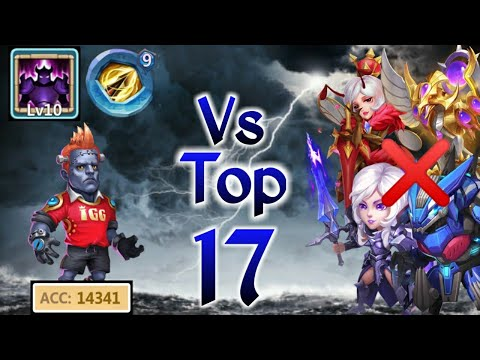 Creation-01 | Vs Top -17 | 14000+ Accuracy | 10 Wickey Armor | 9 ZD | Beast Cr | Castle Clash